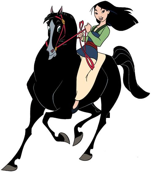 Mulan Horse Concept Art