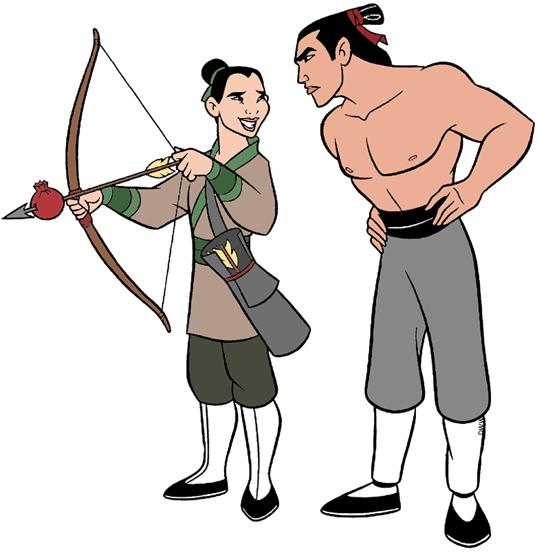 Mulan shang training