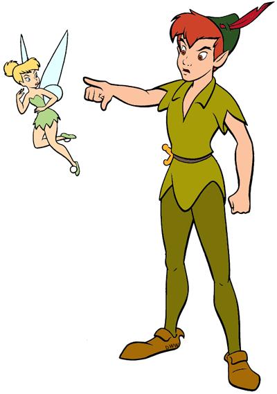 Peter Pan Tinker Bell Clip Art Disney Clip Art Galore