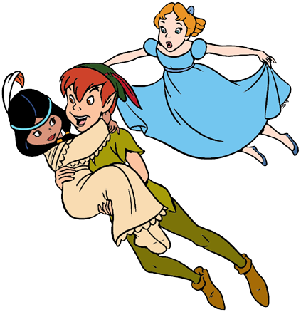 Peter Pan Group Clip Art | Disney Clip Art Galore