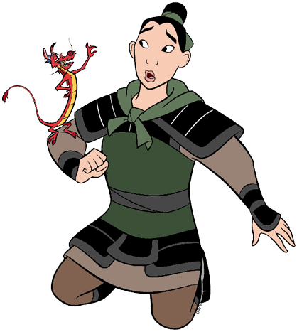 Mulan And Friends Clip Art Disney Clip Art Galore