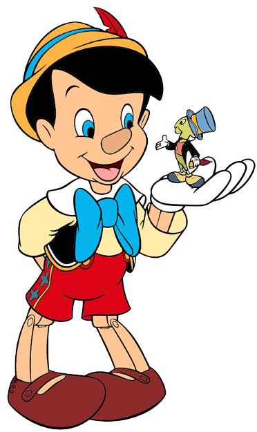 Pinocchio and Jiminy Cricket Clip Art Disney Clip Art Galore