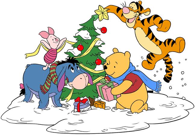 winnie the pooh christmas clip art disney clip art galore