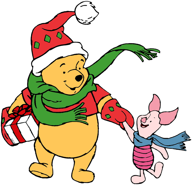 Christmas Clip Art.Winnie The Pooh Christmas Clip Art Disney Clip Art Galore