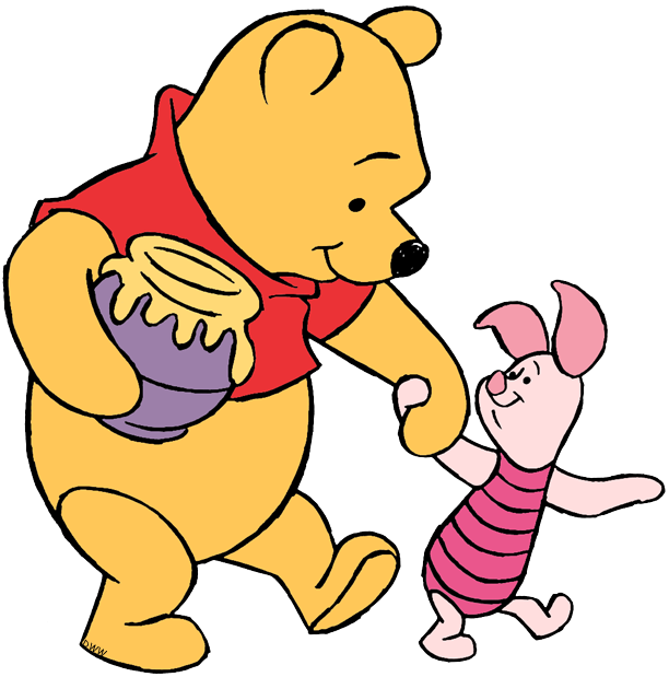 Winnie The Pooh And Piglet Clip Art Disney Clip Art Galore