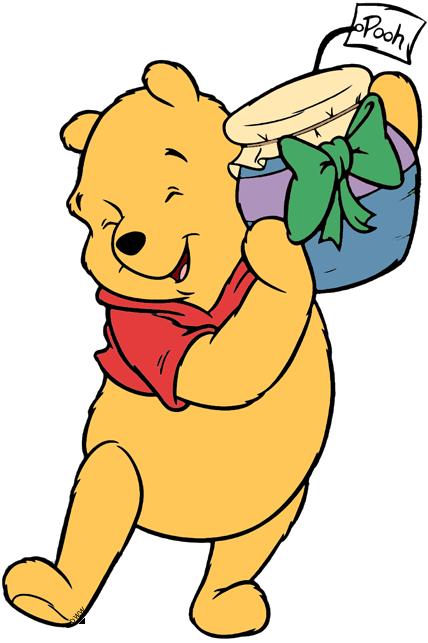 Winnie the Pooh Christmas Clip