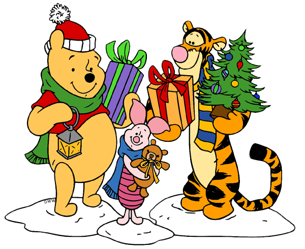 winnie the pooh tigger - Pooh Christmas