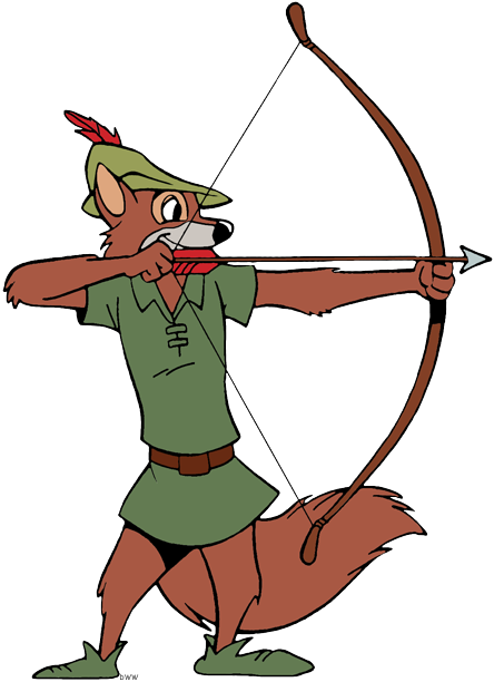 Robin Hood Clip Art Disney Clip Art Galore