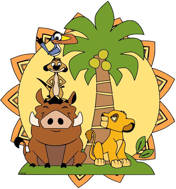 The Lion King Group Clip Art | Disney Clip Art Galore