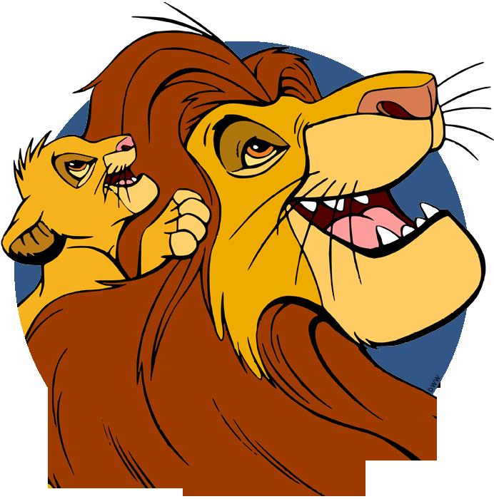 Simba Mufasa Sarabi Clip Art Disney Clip Art Galore