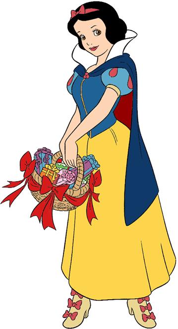 Snow White And The Seven Dwarfs Christmas Clip Art