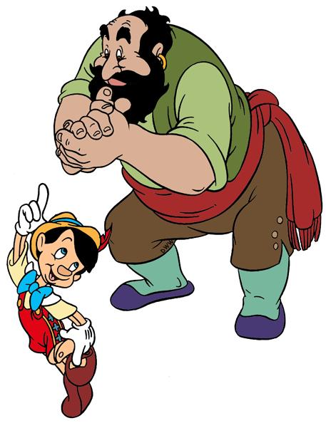 Pinocchio Villains Clip Art Images | Disney Clip Art Galore