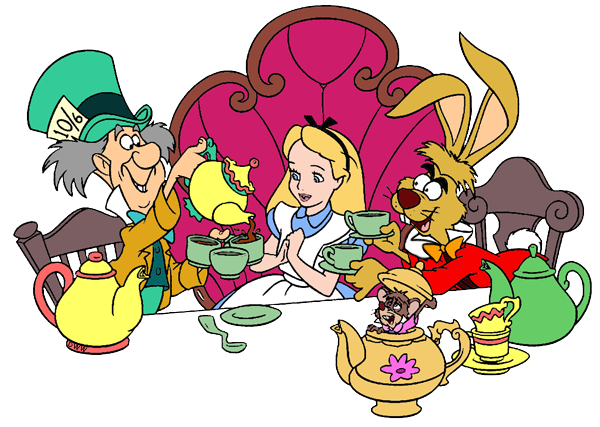 March Hare And Mad Hatter Clip Art Disney Clip Art Galore