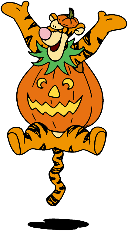 eeyore as tigger pumpkin tigger