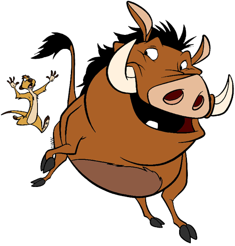 Timon And Pumbaa Clip Art Disney Clip Art Galore