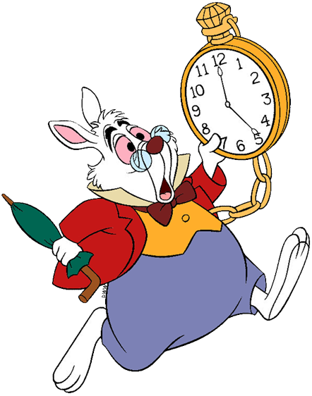 The White Rabbit Clip Art | Disney Clip Art Galore
