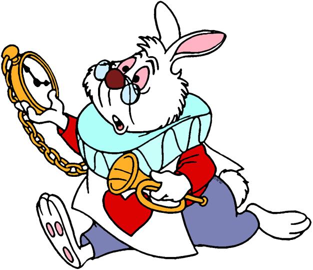 The White Rabbit Clip Art   Disney Clip Art Galore