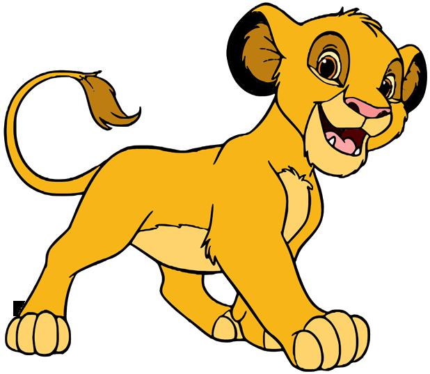 Young Simba Clip Art | Disney Clip Art Galore