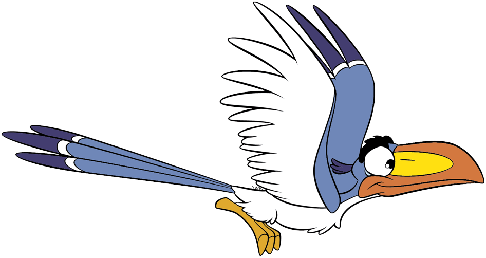rafiki and zazu clip art