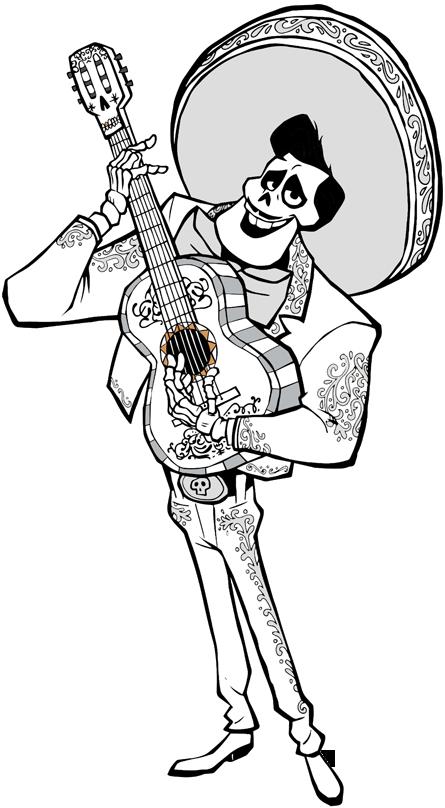 Disney Pixar 39 s Coco Clip Art