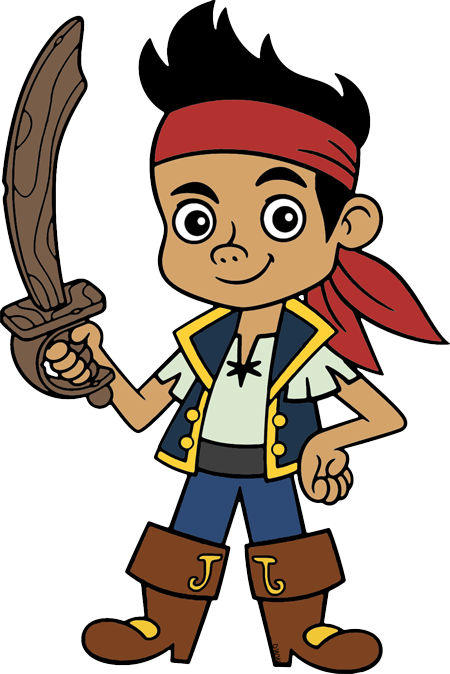 Jake And The Neverland Pirates Clip Art Disney Clip Art