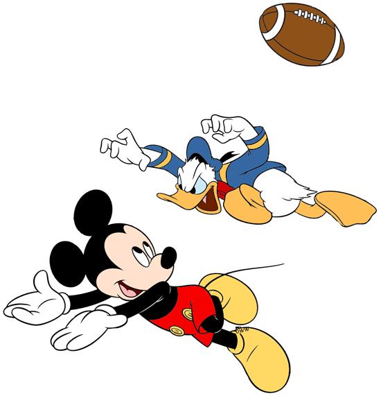 Mickey Donald and Goofy Clip Art
