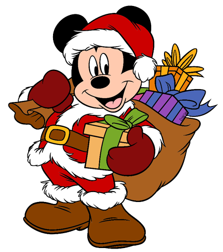 Mickey And Friends Christmas Clip Art 4