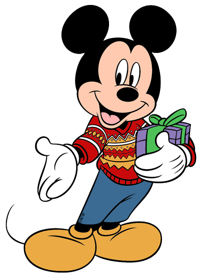 Mickey And Friends Christmas Clip Art 4 Disney Clip Art