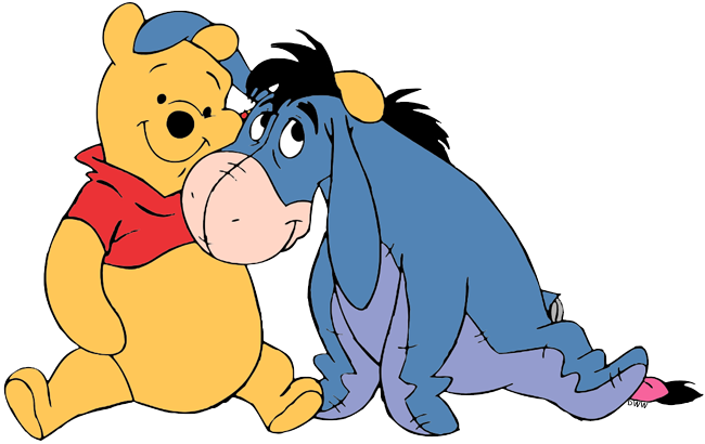 Winnie The Pooh And Eeyore Clip Art Disney Clip Art Galore