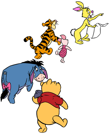 Winnie The Pooh Mixed Group Clip Art 2 Disney Clip Art