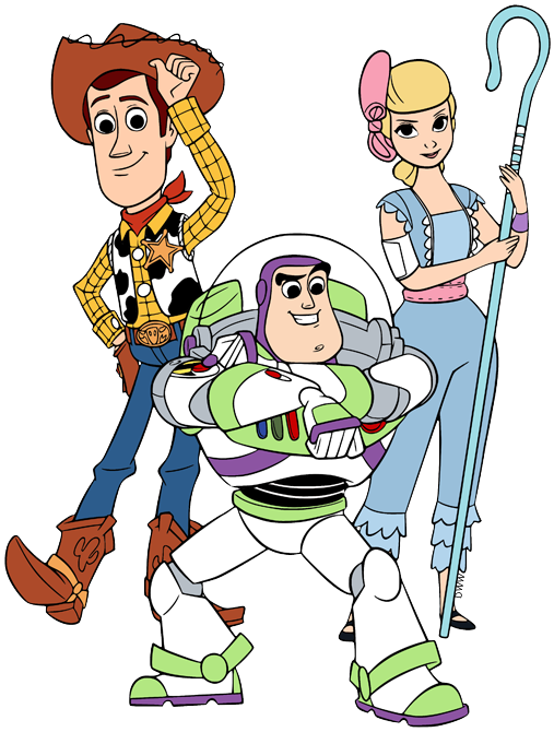 Toy Story 4 Clip Art Disney Clip Art Galore