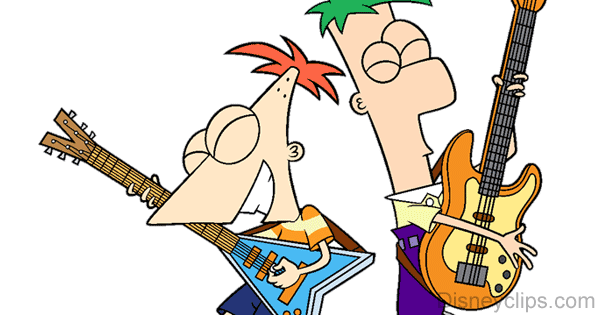 Phineas And Ferb Guitar: Phineas And Ferb Clip Art 2