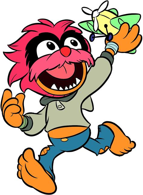 Disney Junior S Muppet Babies Clip Art Disney Clip Art