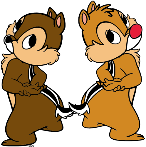 Chip and Dale Clip Art Disney