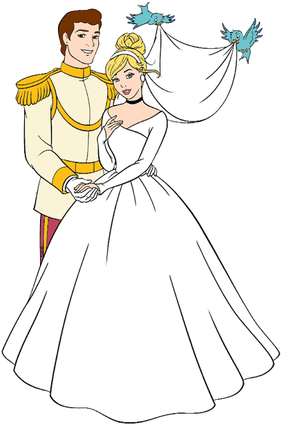 Disney Weddings Clip Art Disney
