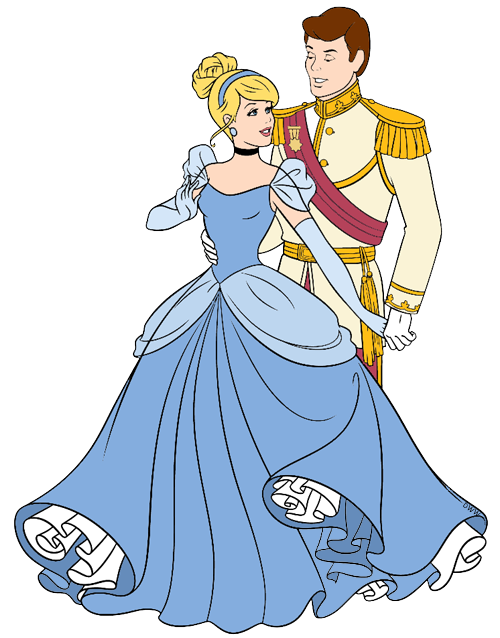 Cinderella And Prince Charming Clip Art