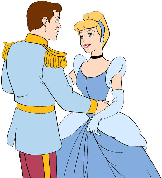 Cinderella And Prince Charming Clip Art Disney Clip Art