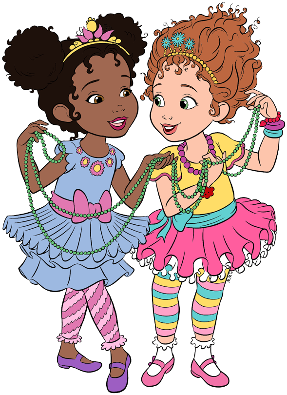 This is a graphic of Massif Fancy Nancy Clipart