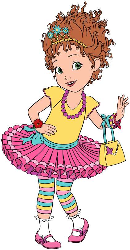 This is a graphic of Adorable Fancy Nancy Clipart