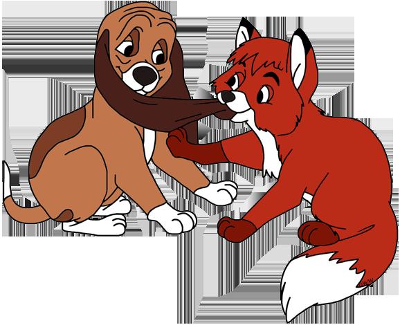 The Fox and the Hound Clip Art | Disney Clip Art Galore