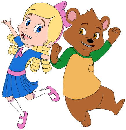Goldie and Bear Clip Art Disney Clip Art Galore