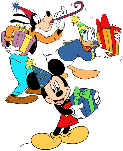 Disney Birthdays and Parties Clip Art | Disney Clip Art Galore