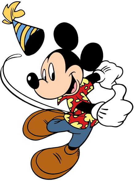 Disney Birthdays and Parties Clip Art Disney Clip Art Galore