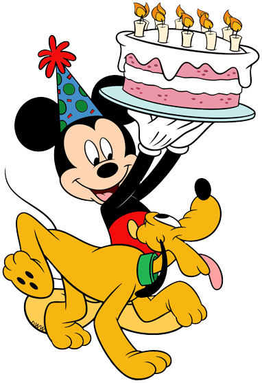 Disney Birthdays and Parties Clip Art | Disney Clip Art Galore