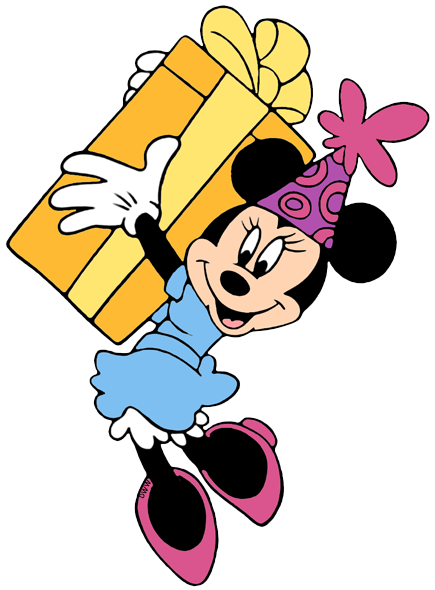 Disney Birthdays And Parties Clip Art