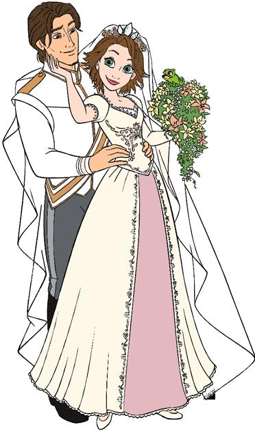 Disney Weddings Clip Art 3
