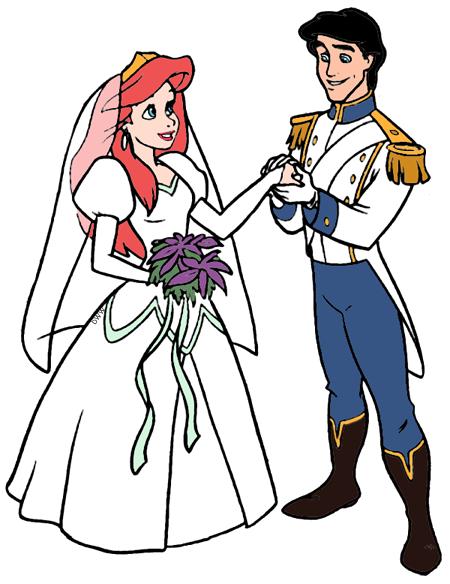 Ariel and Eric Clip Art 2 Disney Clip Art Galore