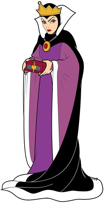 Evil Queen, Witch and Huntsman Clip Art | Disney Clip Art ...Disney Evil Queen Art