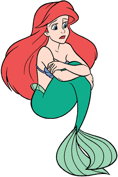 Mermaid Ariel Clip Art Disney