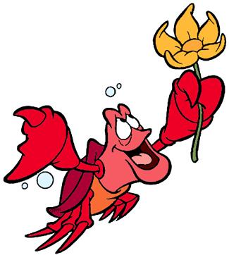 Sebastian The Crab Clip Art Disney Clip Art Galore